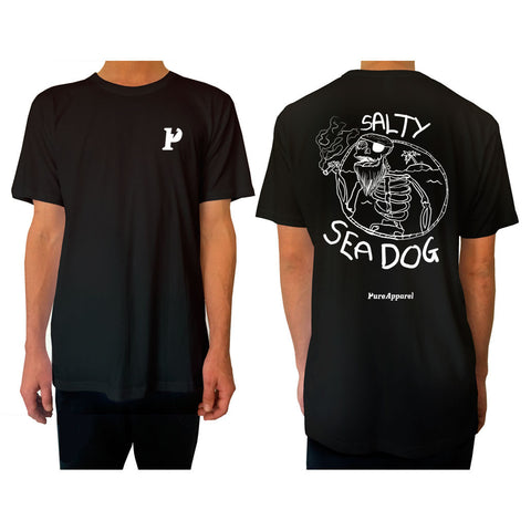 Salty Sea Dog #03 - Tee - pure apparel and surf