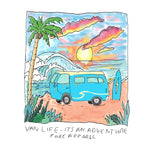 Van Life Adventure - Long Sleeve - Pure Apparel - pure apparel and surf