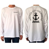 Anchor City - Long Sleeve - pure apparel and surf