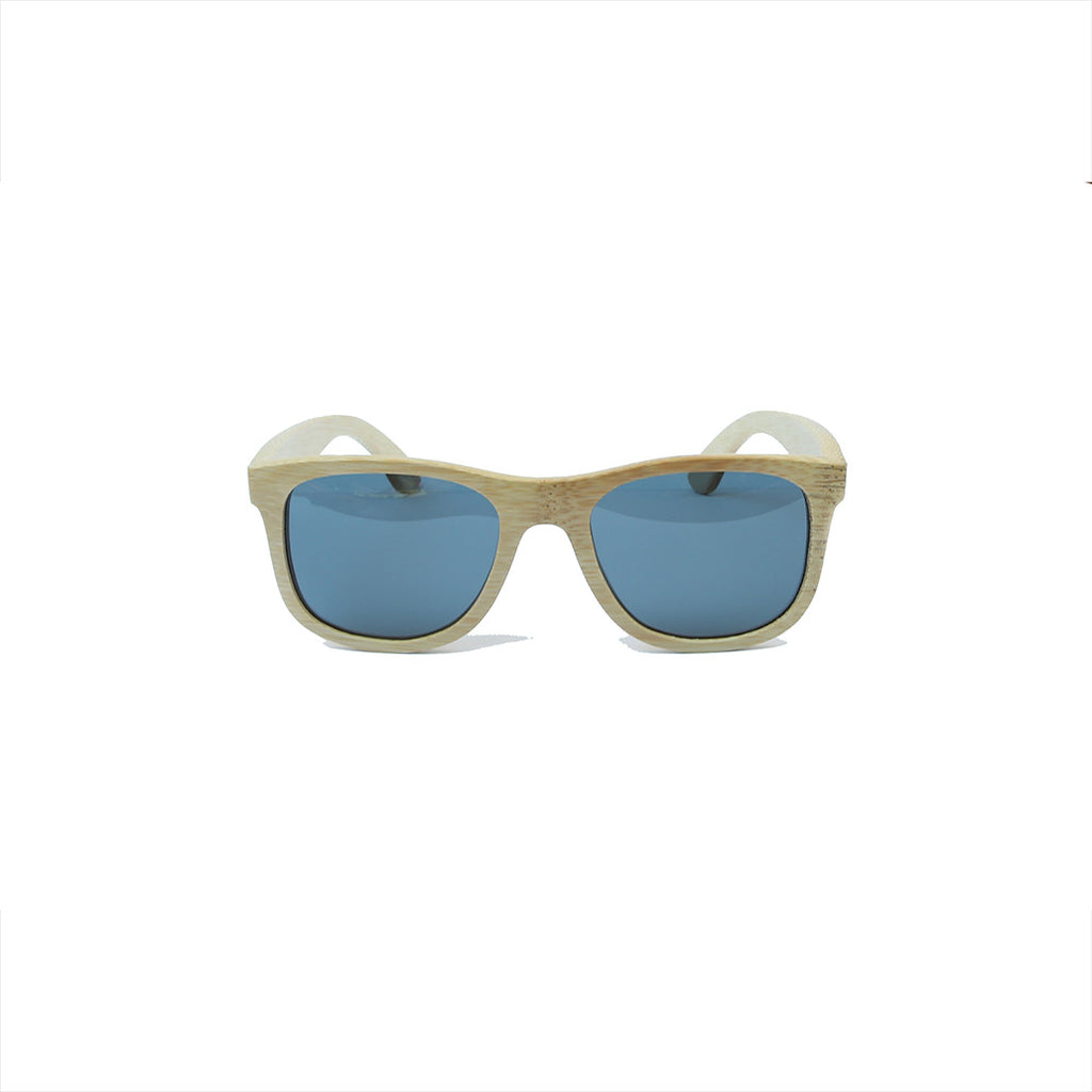 Bamboo sunnies, Natural with Black