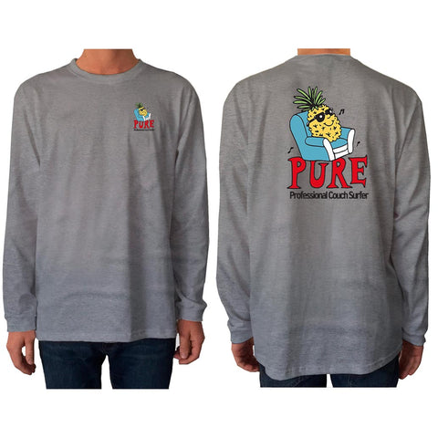 Couch Surfer - Long Sleeve - pure apparel and surf