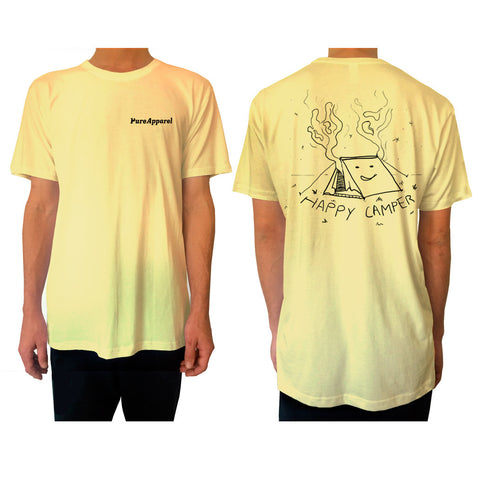 Happy Camper - Tee - Yellow