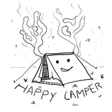 Happy Camper - Long Sleeve - pure apparel and surf