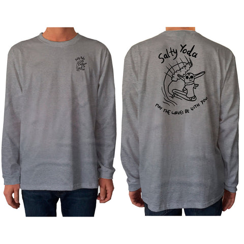Salty Yoda - Long Sleeve