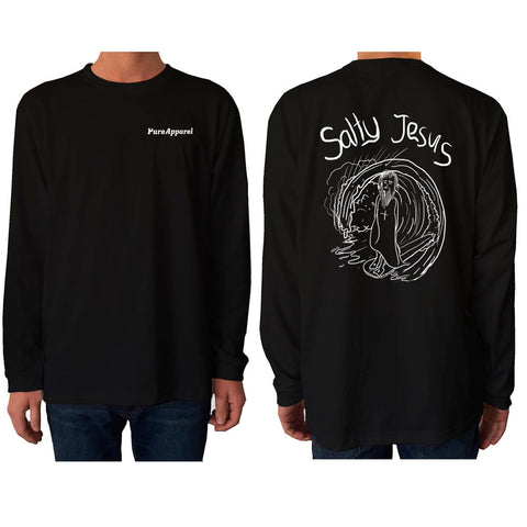 Salty Jesus - Long Sleeve - pure apparel and surf