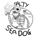 Salty Sea Dog #03 - Long Sleeve - pure apparel and surf