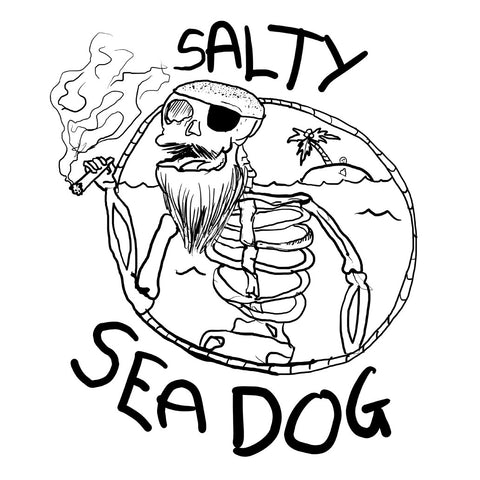Salty Sea Dog #03 Long Sleeve
