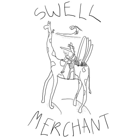 Swell Merchant - Tee - Black