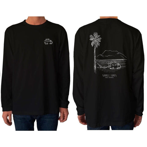 Van Life Simple Times - Long Sleeve - pure apparel and surf