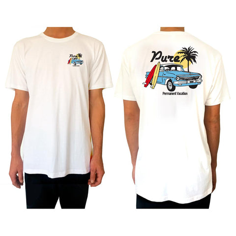 Permanent Vacation - Tee - pure apparel and surf