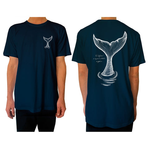 Whale Tail - Tee - pure apparel and surf