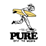 Off To Work - Tee - pure apparel and surf