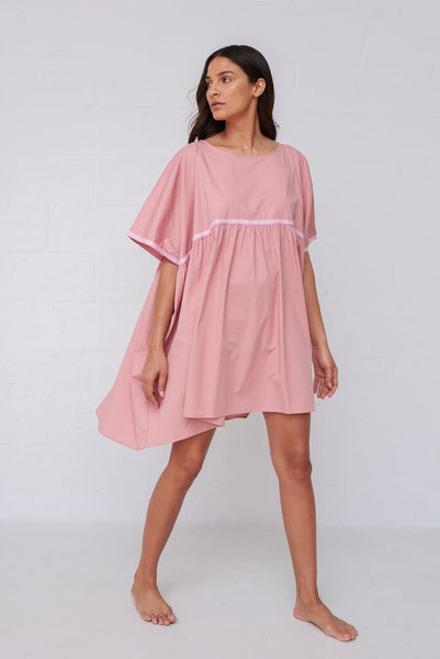 Popelina Babydoll Dress