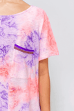 Tie Dye Unisex Pocket T-Shirt
