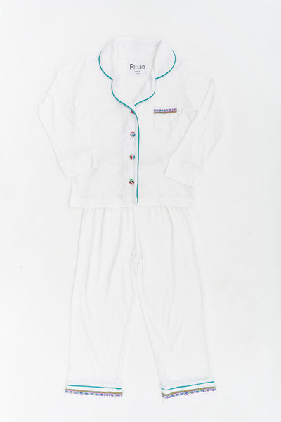 Kids Pima PJ Set