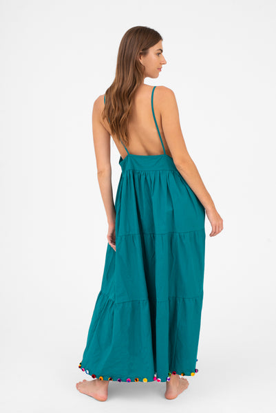 Popelina Maxi Dress