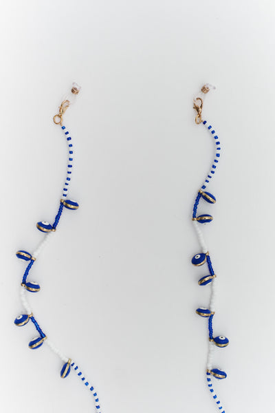 Beaded Evil Eye Glasses and Mask Chain