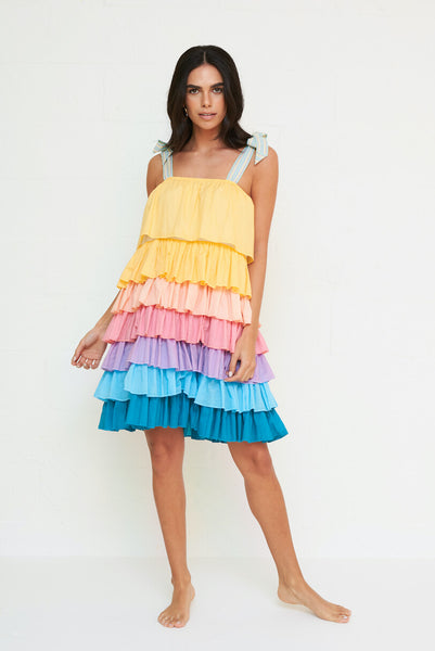 Piñata Tiered Dress