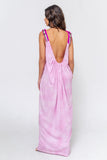 The Tie Dye Backless dress