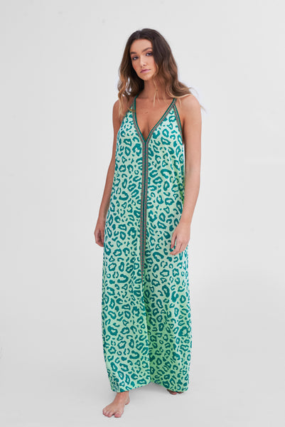 Pima Cheetah Sundress