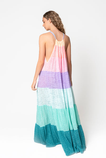 Popsicle Halter Dress