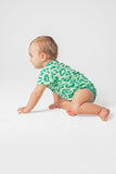 Pima Cheetah Short Sleeve Bodysuit