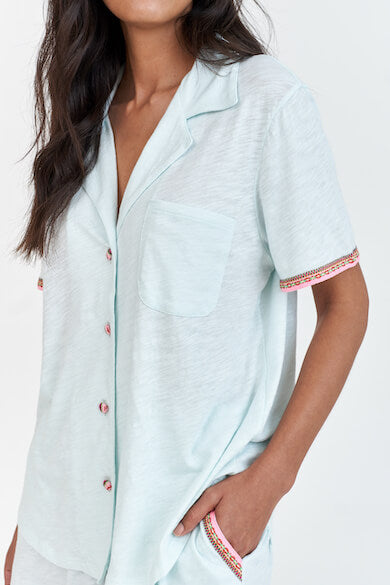 Classic Button Down PJ Top