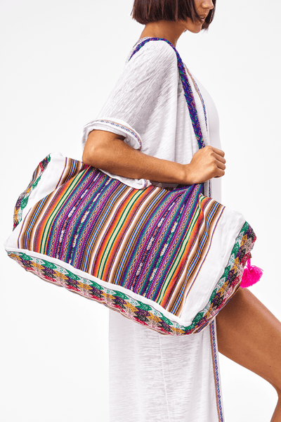 Tribal Weekender Bag