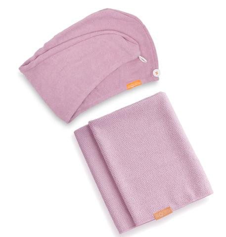 Lisse Luxe Hair Towel & Turban Duo