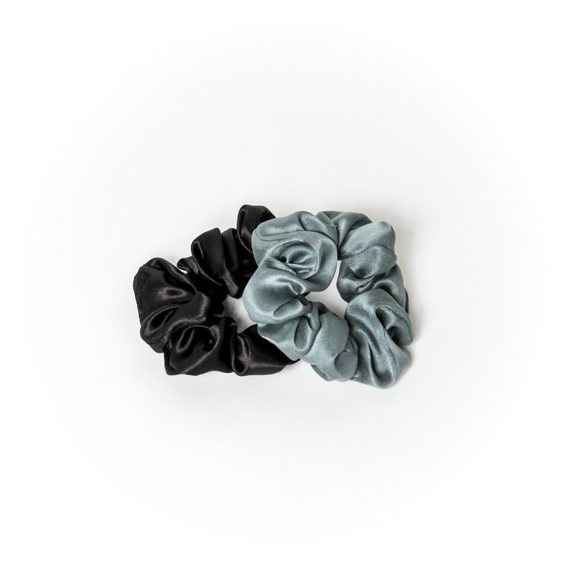 Silk Hair Scrunchies Set (4392584478792)