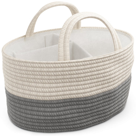 Diaper Caddy - Gray