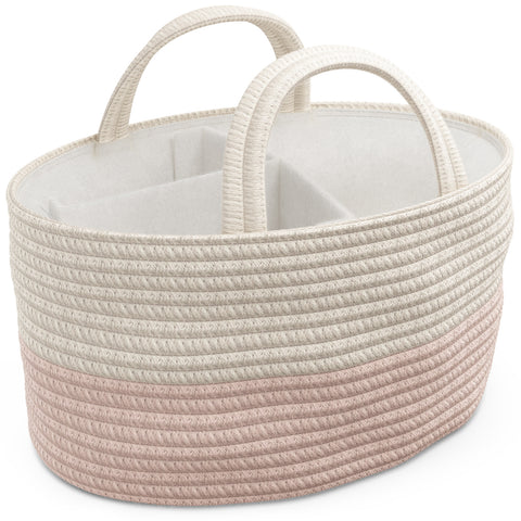 Diaper Caddy - Pink