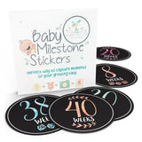 Baby Bump Pregnancy Weekly Stickers