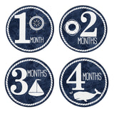 Nautical Milestone Stickers