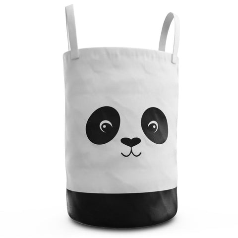 Panda Laundry Hamper for Nursery or Kids Room