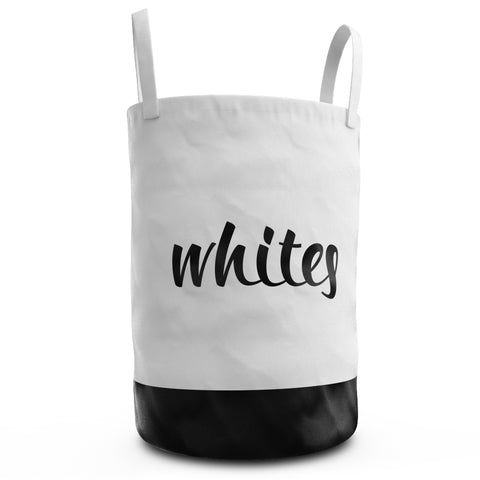 Laundry Hamper - Whites