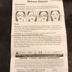 Makeup Glasses