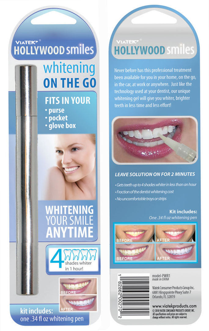 Hollywood Smiles Teeth Whitening Pen