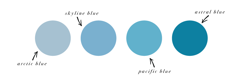 How to craft a kickass color combination for your brand and website with monochromatic colors