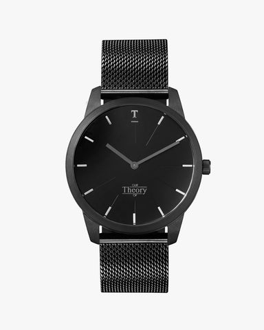 Matte all black mesh watch, Our Theory Of