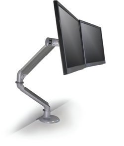 HD Dual Screen Monitor Arm (Heavy Duty) | IBIS Series | Adjustable Mount