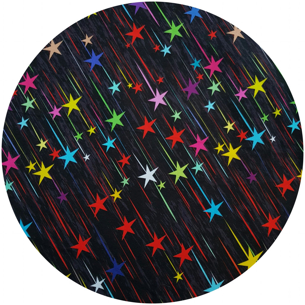 CHEECOLICIOUS Cotton Jersey Cloth Pads - Fleece Backed - Flying Stars Cotton Jersey Cloth Pad