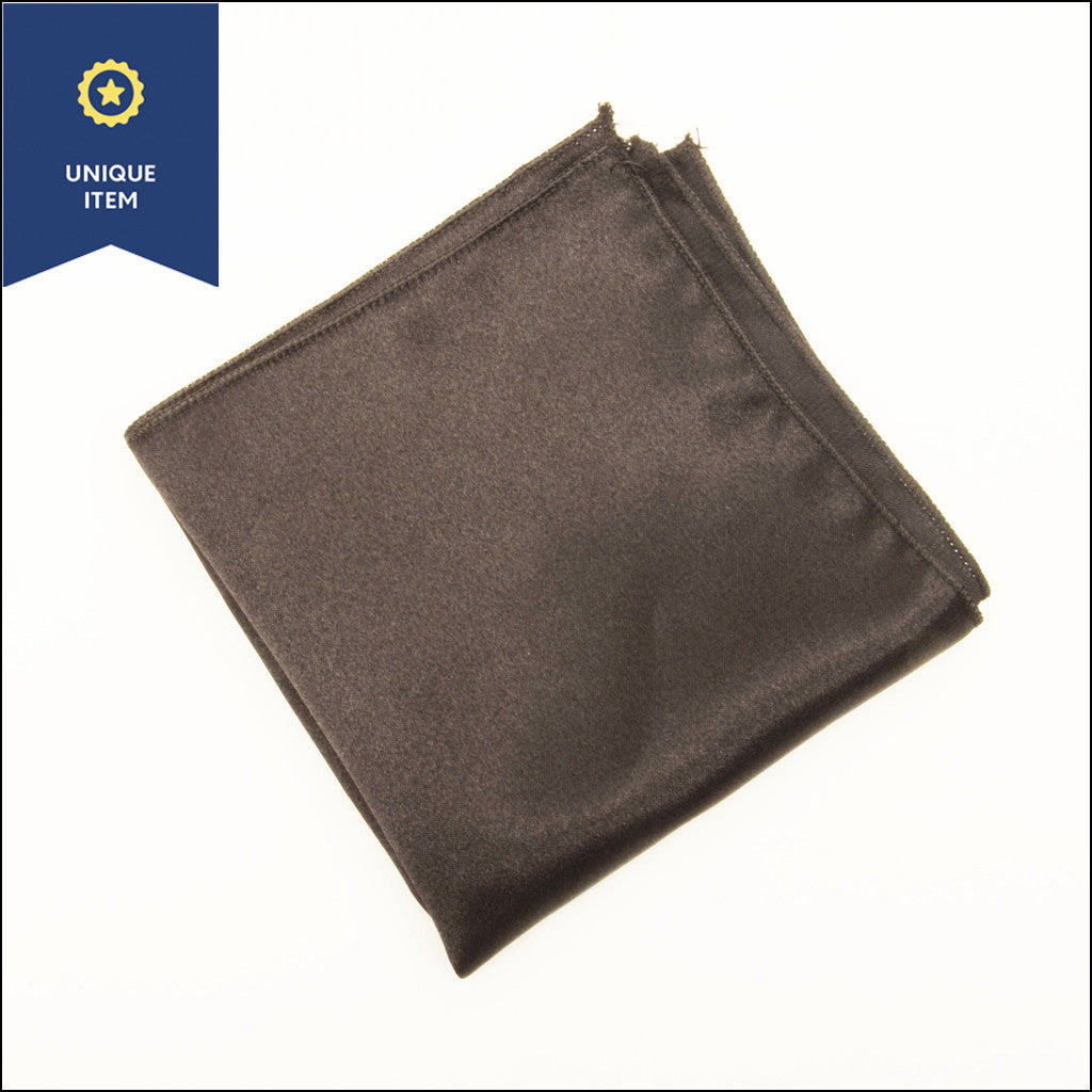 Black Soul Pocket Square