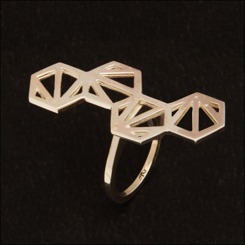 Butterfly fragments Ring MA3