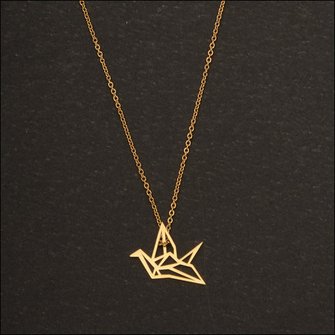 Origami Dainty Necklace