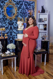 The MALIBU Maternity Gown (100317626374)
