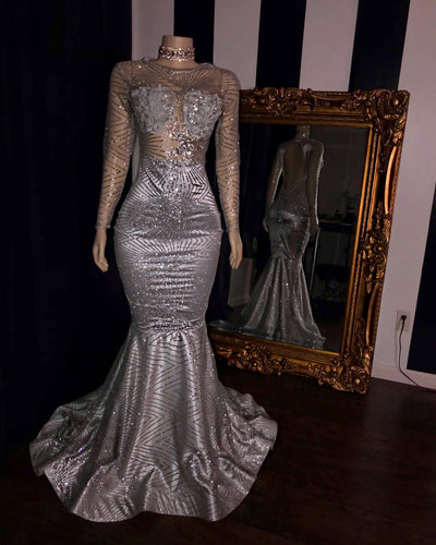 The PLATINUM Glitz Gown (2394348453972)