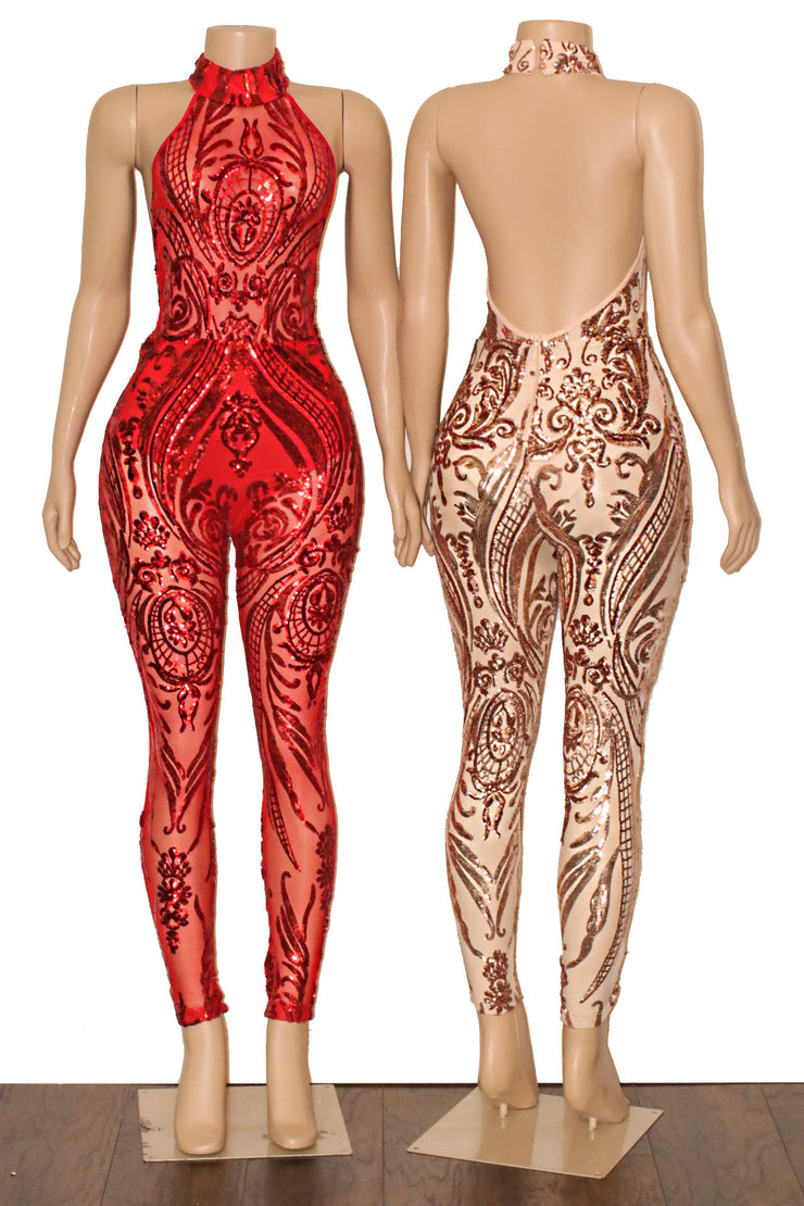 The LIAM Sequins Jumpsuit (2366282563668)