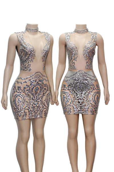 The KELLY Sequins Dress- Available in 4 colors