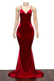 The CHANTEL Satin Gown- Available in 8 colors